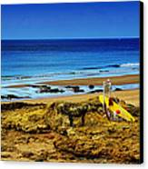 Early Morning On The Beach Canvas Print