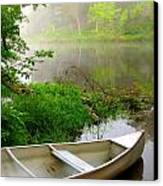 Early Morning Paddle Canvas Print by Jody Partin