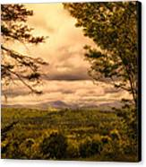 Early Spring Rain Canvas Print by Bob Orsillo