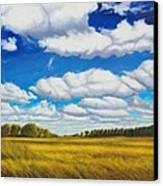 Early Summer Clouds Canvas Print