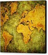 Earth And Brine Canvas Print by Brett Pfister