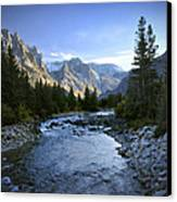 East Rosebud Canyon 8 Canvas Print by Roger Snyder