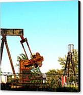 East Texas Oil Field Canvas Print