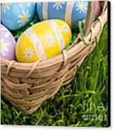 Easter Basket Canvas Print by Edward Fielding