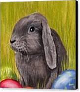 Easter Bunny Canvas Print by Anastasiya Malakhova