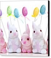 Easter Bunny Toys Canvas Print