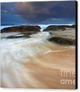 Ebb Tide Sunrise Canvas Print