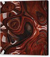 Ebony Flow Canvas Print by Jack Zulli