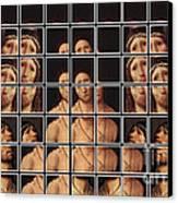 Ecce Homo 2 Canvas Print by Elena Mussi