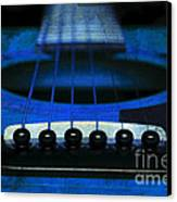 Edgy Abstract Eclectic Guitar 18 Canvas Print by Andee Design