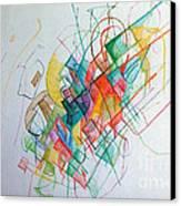 Education 1 Canvas Print by David Baruch Wolk