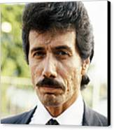 Edward James Olmos In Miami Vice  Canvas Print by Silver Screen