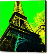 Eiffel 20130115v2 Canvas Print by Wingsdomain Art and Photography