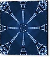 Eiffel Art 21 Canvas Print