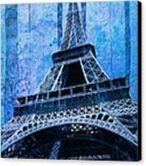 Eiffel Tower 2 Canvas Print by Jack Zulli
