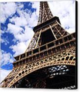 Eiffel Tower Canvas Print by Elena Elisseeva