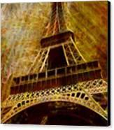 Eiffel Tower Canvas Print by Jack Zulli