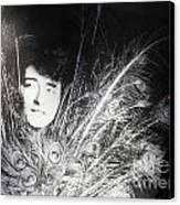 Eileen Gray Retrospective Imma Dublin Canvas Print by Ros Drinkwater