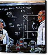 Einstein/carver Experiments Canvas Print by Sidney Holmes
