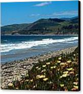 El Capitan Beach Canvas Print by Kathy Yates