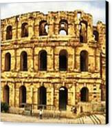 El Jem Colosseum Canvas Print