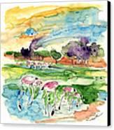 El Rocio 09 Canvas Print