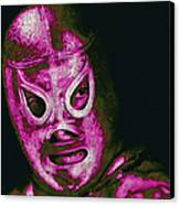 El Santo The Masked Wrestler 20130218m68 Canvas Print by Wingsdomain Art and Photography