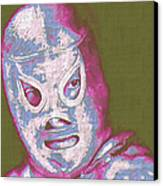 El Santo The Masked Wrestler 20130218v2m168 Canvas Print by Wingsdomain Art and Photography