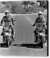 Electra Glide In Blue  Canvas Print