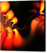 Electric Wave Canvas Print