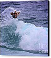 Electrifying Surfer Canvas Print by Heng Tan
