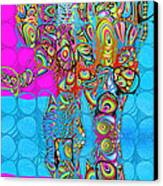 Elefantos - Av03-ps01 Canvas Print by Variance Collections