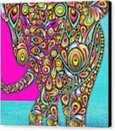 Elefantos - Bg01ac02 Canvas Print by Variance Collections