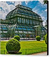Elegant Greenhouse Canvas Print by Viacheslav Savitskiy