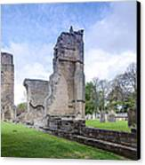 Elgin Cathedral Community - 19 Canvas Print by Paul Cannon