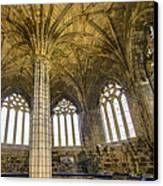 Elgin Cathedral Community - 22 Canvas Print by Paul Cannon