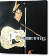 Elvis 1956 Canvas Print