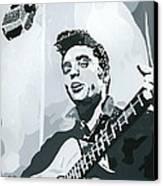 Elvis At Sun Canvas Print