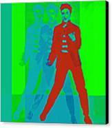 Elvis Jail House Rock 20130215p68 Canvas Print by Wingsdomain Art and Photography