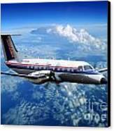 Embraer Emb-120er Braslia Skywest  Canvas Print by Wernher Krutein