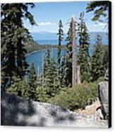 Emerald Bay Vista Canvas Print