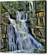 Emerald Cascade Canvas Print by Bill Gallagher