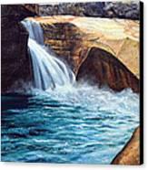 Emerald Pool Canvas Print