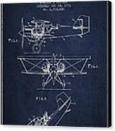 Emergency Flotation Gear Patent Drawing From 1931 Canvas Print by Aged Pixel