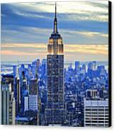Empire State Building New York City Usa Canvas Print