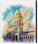 Empress Market Karachi Canvas Print by Catf