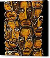 Empyreal Souls No. 5 Canvas Print by Steve Bogdanoff