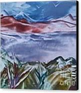 Encaustic Art 2 Canvas Print by Debra Piro