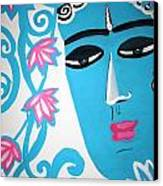 Enchanting Buddha  Canvas Print by Madhuri Krishna