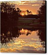 End Of Day Canvas Print by Jinx Farmer